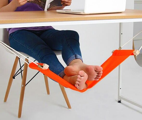 Accmart Desk Foot Rest Hammock Cool Things to Buy