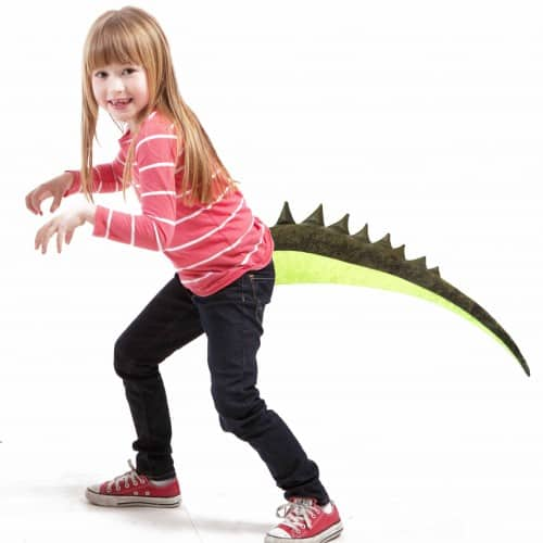 TellTails Wearable Animal Tails Alligator Kids Size