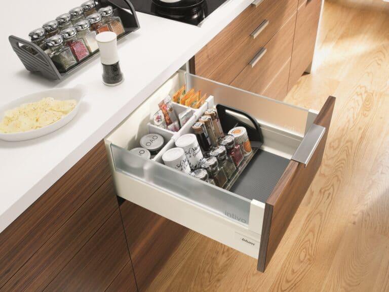 Blum Orga-Line Spice Tray Set Kitchen Organizer