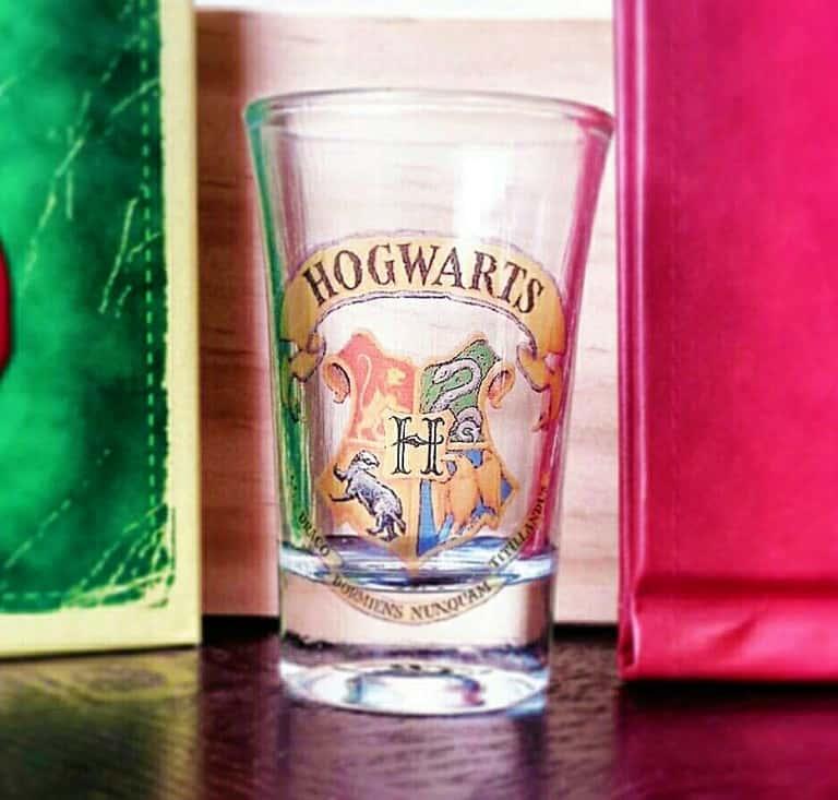 Boos Tiny Bits Hogwart House Shot Glasses Geek Gift Idea