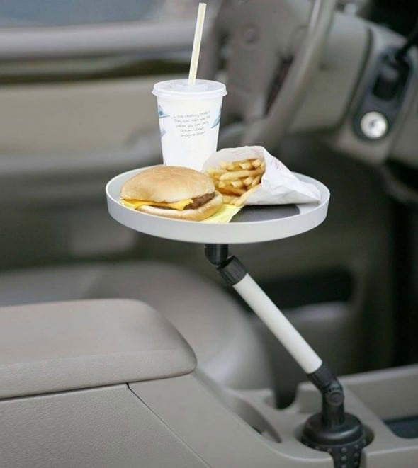 Car Swivel Tray and Storage Bin Dad Gift Idea