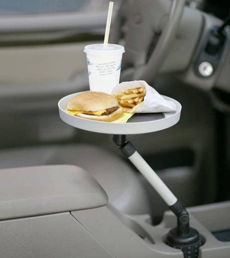 Car Swivel Tray and Storage Bin Dad Gift Idea