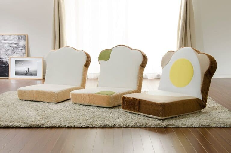 Cellutane Panzaisu Bread Floor Chair Creative Japanese Products