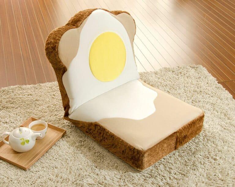 Cellutane Panzaisu Bread Floor Chair With Egg