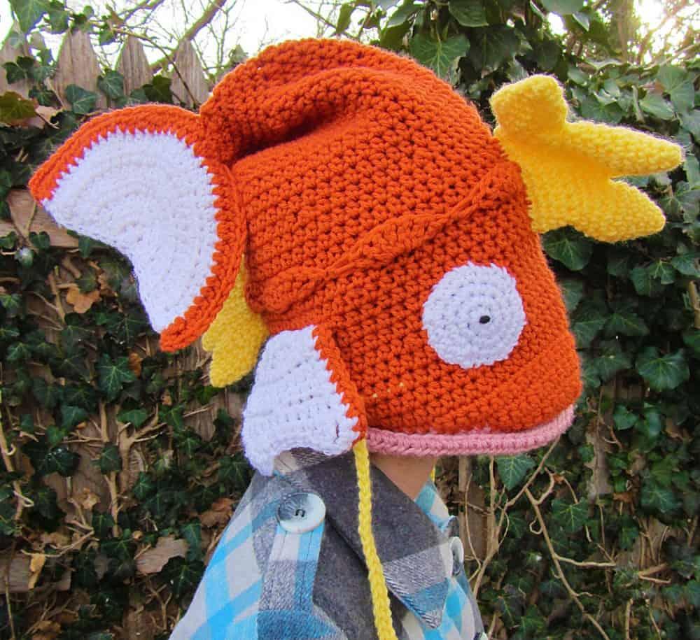 Corlista Magikarp Pokemon Crochet Hat Cute and Weird Stuff to Buy