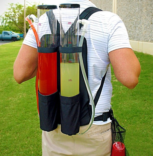 Dual Tank Backpack Drink Dispenser Cool Party Tool Must Have