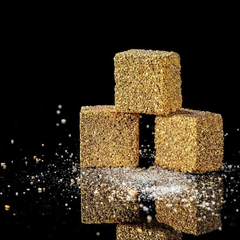 Gold Sugar Cubes Luxury Edition 24K Plated