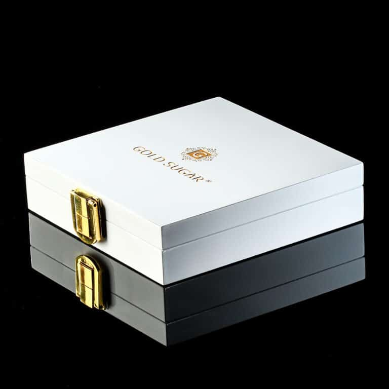Gold Sugar Cubes Luxury Edition White Box