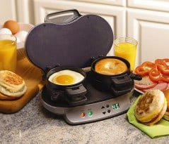 All-in-one breakfast sandwich maker.
