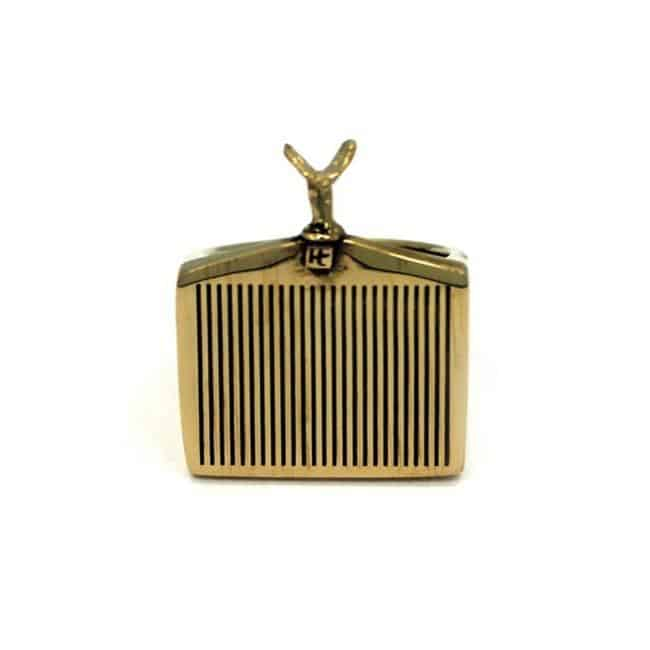 Han Cholo Grill Ring Gold Front