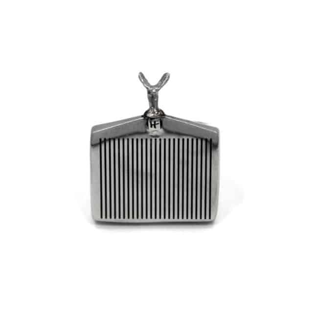 Han Cholo Grill Ring Silver Front