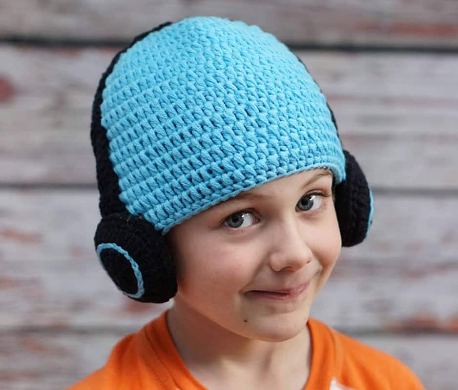 Hug A Bug Kids Crocheted Headphone Hat Buy Son Gift