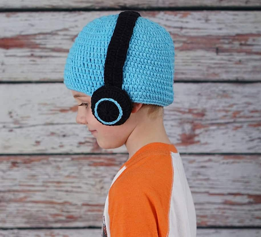 Hug A Bug Kids Crocheted Headphone Hat Trendy