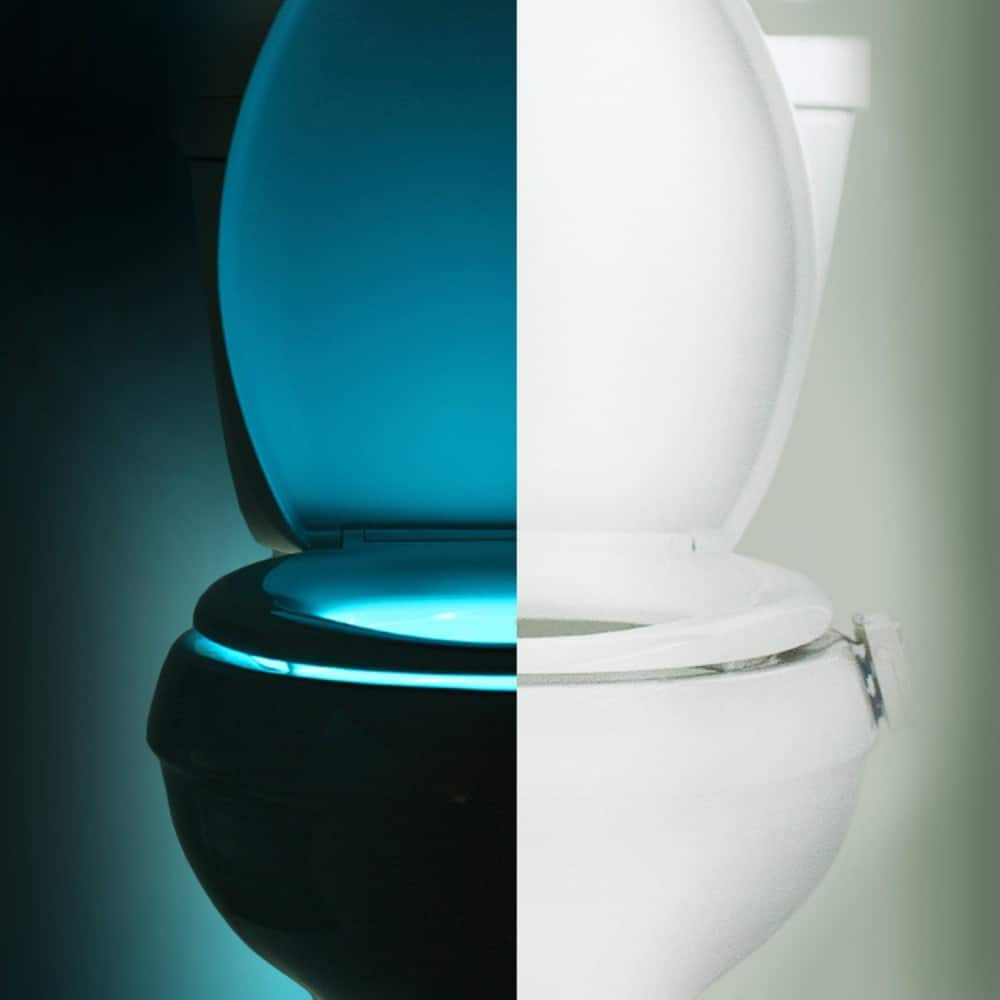 Illumibowl Motion Activated Toilet Night Light Noveltystreet