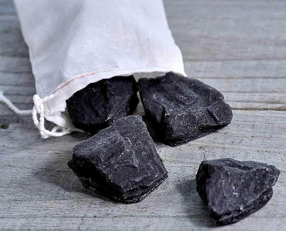 Latika Soap Bag Of Coal Soap Noveltystreet