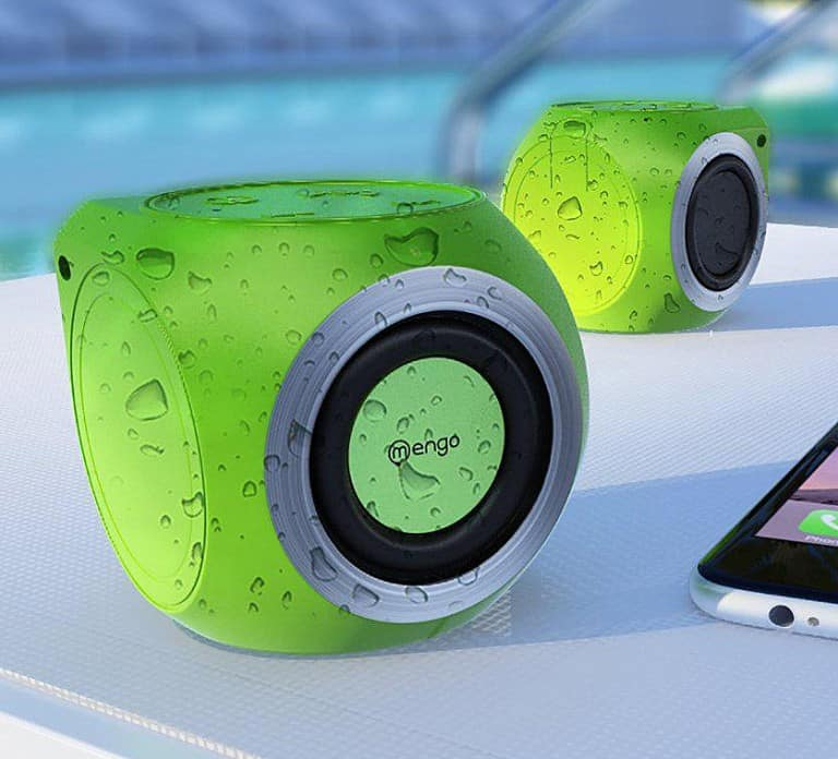 Mengo AquaCube Waterproof Speakers Buy Cool Gift for Teenagers
