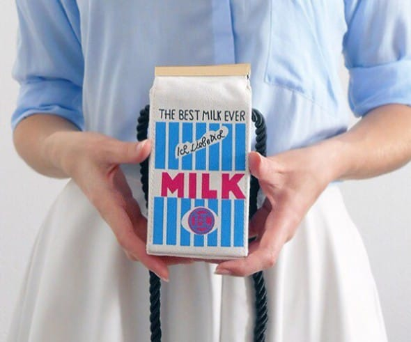 Mini Milk Carton Purse Cute Fashion Accessory to Buy