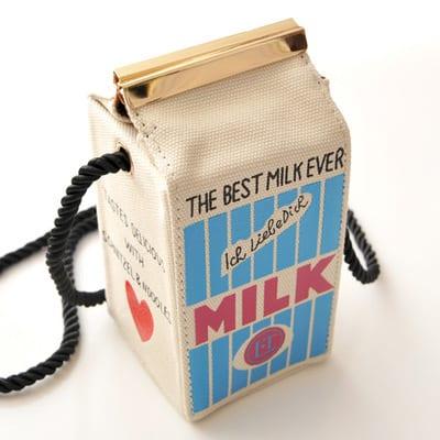 Mini Milk Carton Purse Trendy Cute Bag to Buy