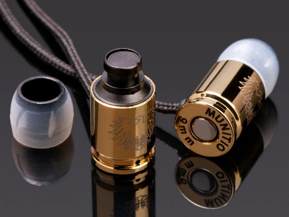 Munitio Nines Tactical Earphones  Novelty Item to Buy