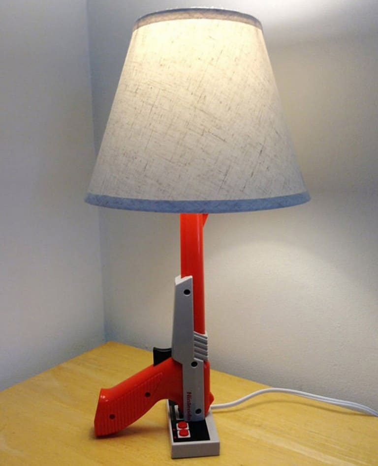 NES Zapper Gun Desk Lamp Cool Things to Buy