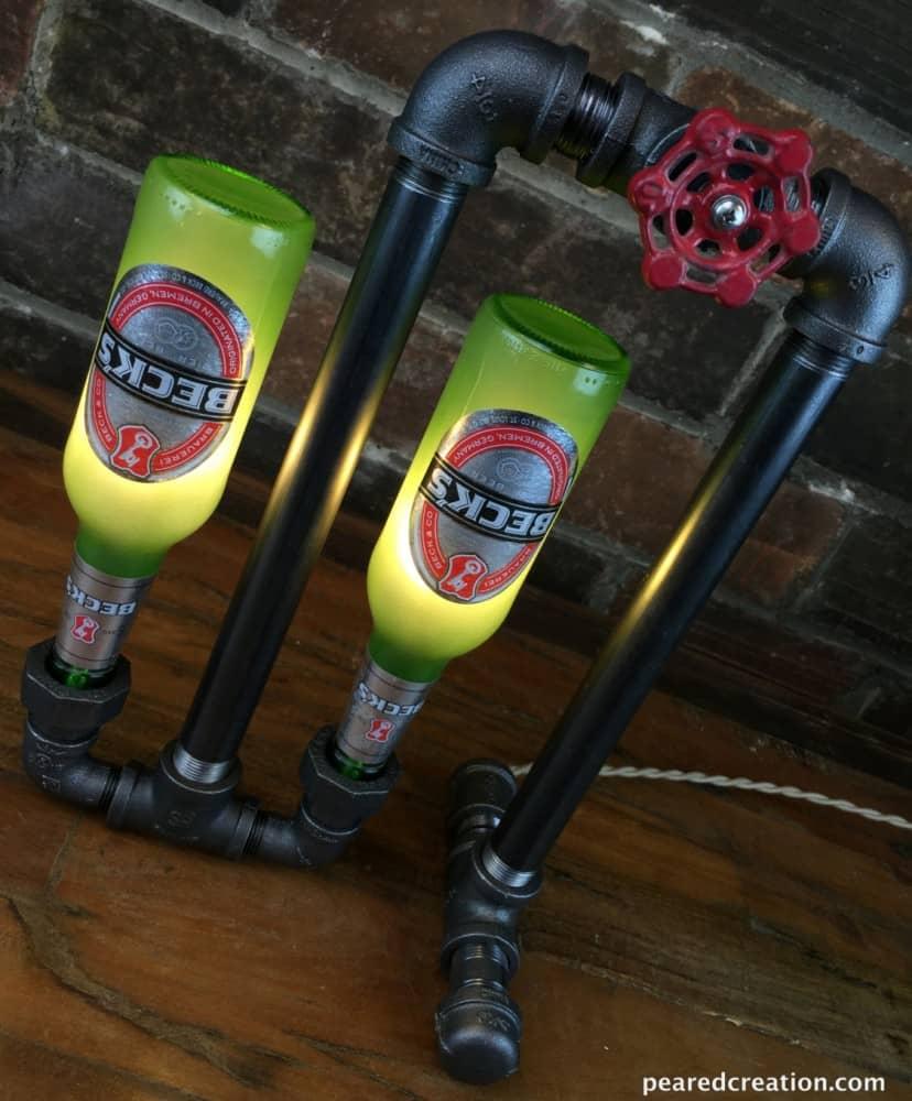 New Wine Old Bottles Bar Decor Industrial Lamp