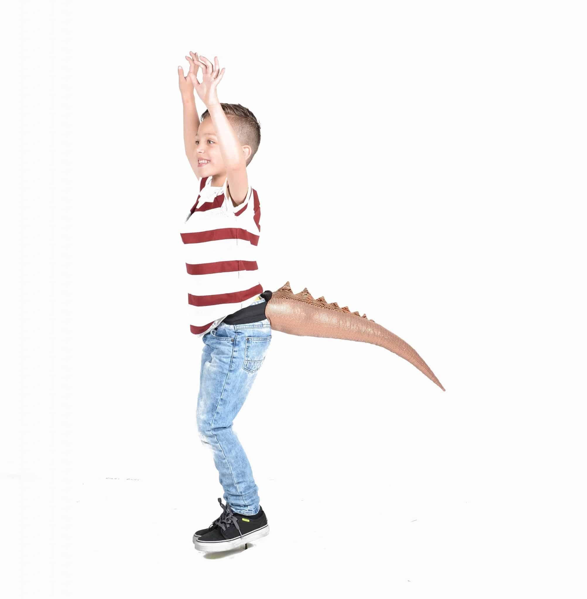 TellTails Wearable Animal Tails Lizard Kids Size
