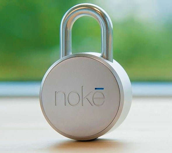No key bluetooth padlock.