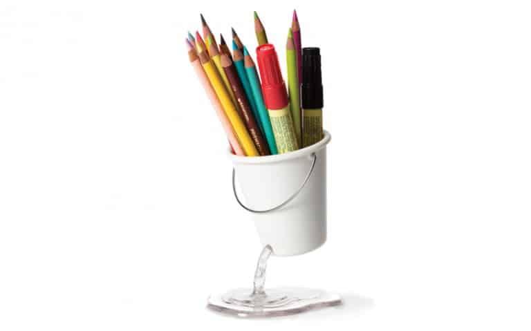 Peleg Design Desk Bucket Novelty Desk Design