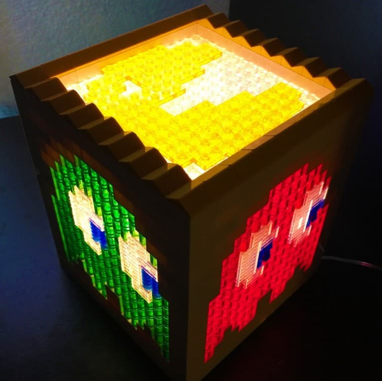 Pugs and Lego Pacman Lego Light Gift Idea for Kids
