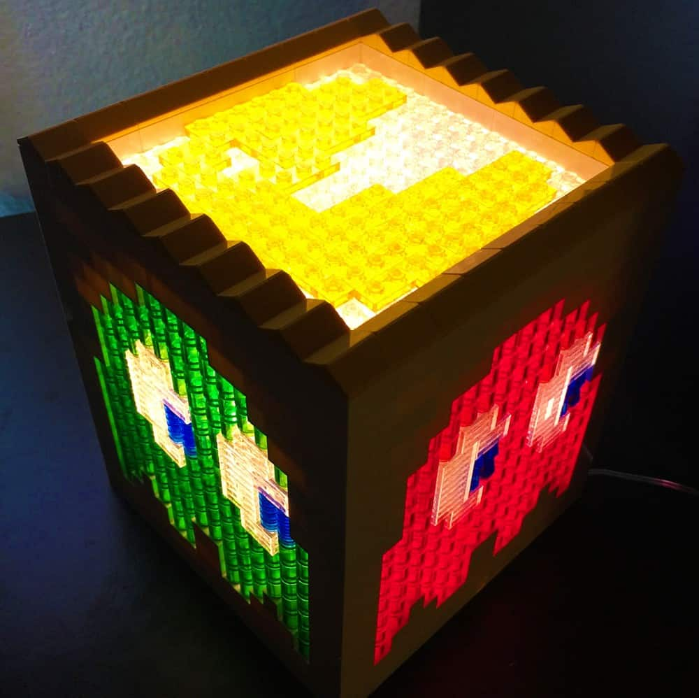 pugs and lego pacman lego light noveltystreet. Black Bedroom Furniture Sets. Home Design Ideas