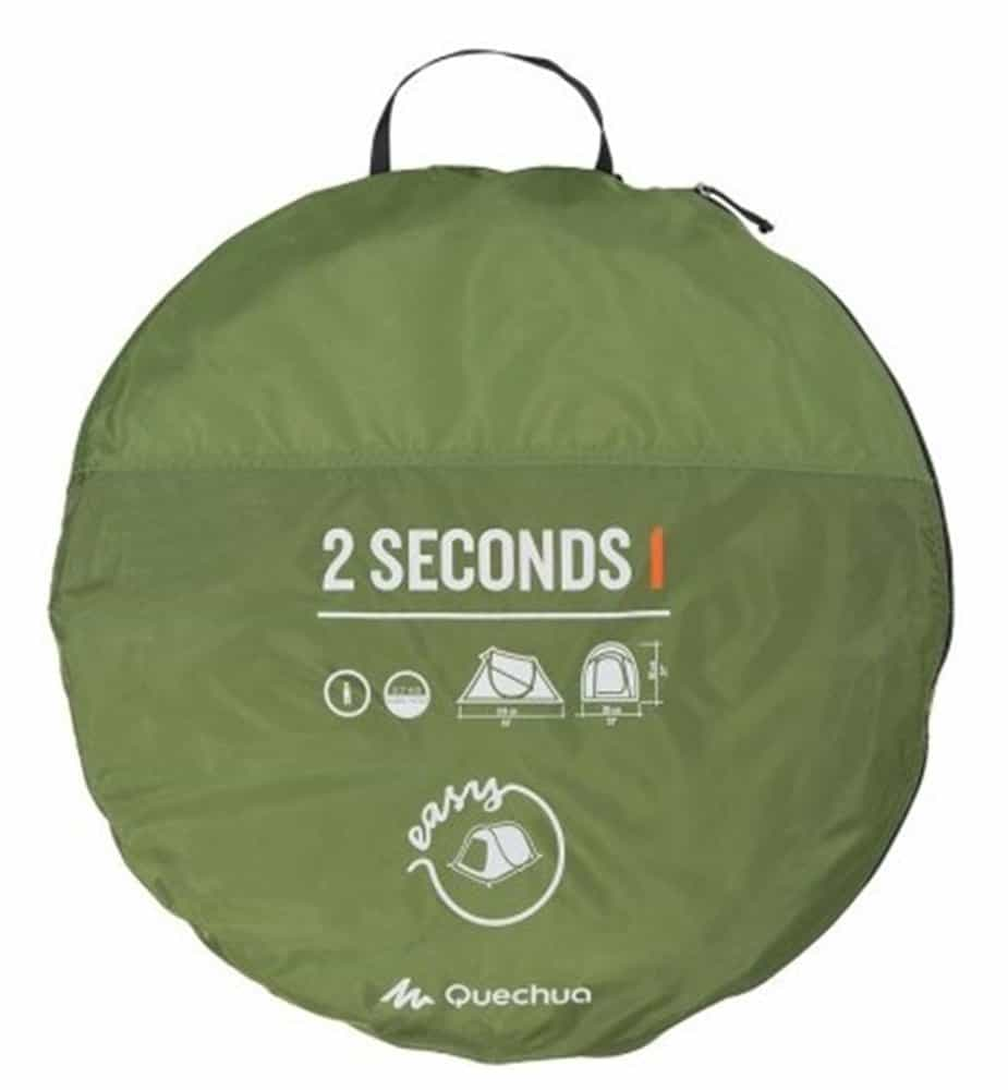 Set up your own tent in 2 seconds.  sc 1 st  Novelty Street & Quechua Decathlon 2 Seconds Pop Up Tent - NoveltyStreet