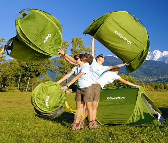 Quechua Decathlon 2 Seconds Pop Up Tent Cool Hiking Stuff to Buy
