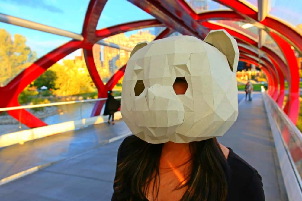 RPS Creations Teddy Bear Mask Create Quick Costume