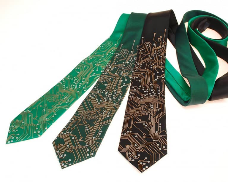Scatterbrain Ties Circuit Board Geek Tie Buy Cool Boyfriend Gift