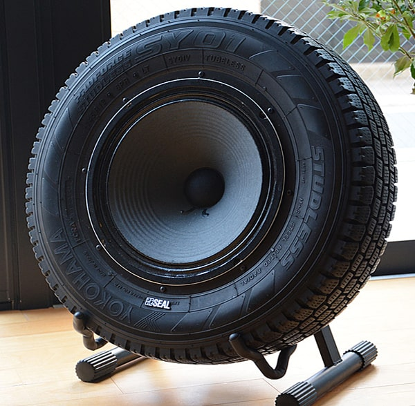 Seal Recycled Tires Speaker Unique Sound System to Buy for Him
