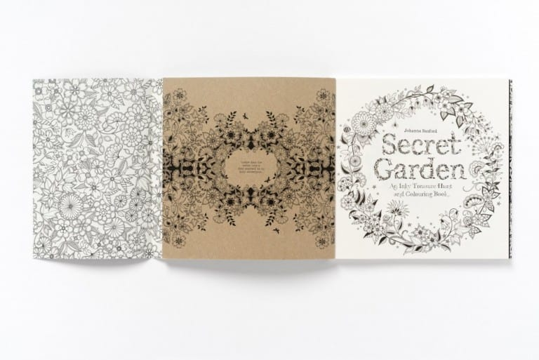 Secret Garden An Inky Treasure Hunt and Coloring Book Cool Stuff to Buy for Artists