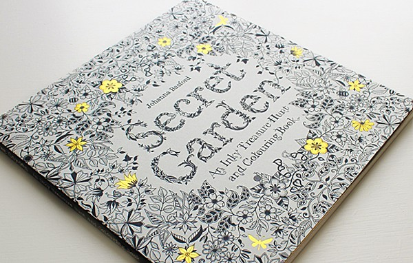Secret Garden An Inky Treasure Hunt and Coloring Book Cool Things to Buy for Her