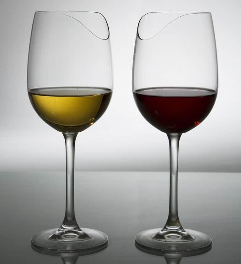 Silhouette Sense-enhancing Wine Glass Unique Design