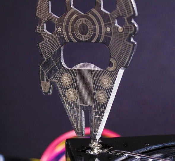 Star Wars Millennium Falcon Multi Tool Cool Geek Gift Idea to Buy