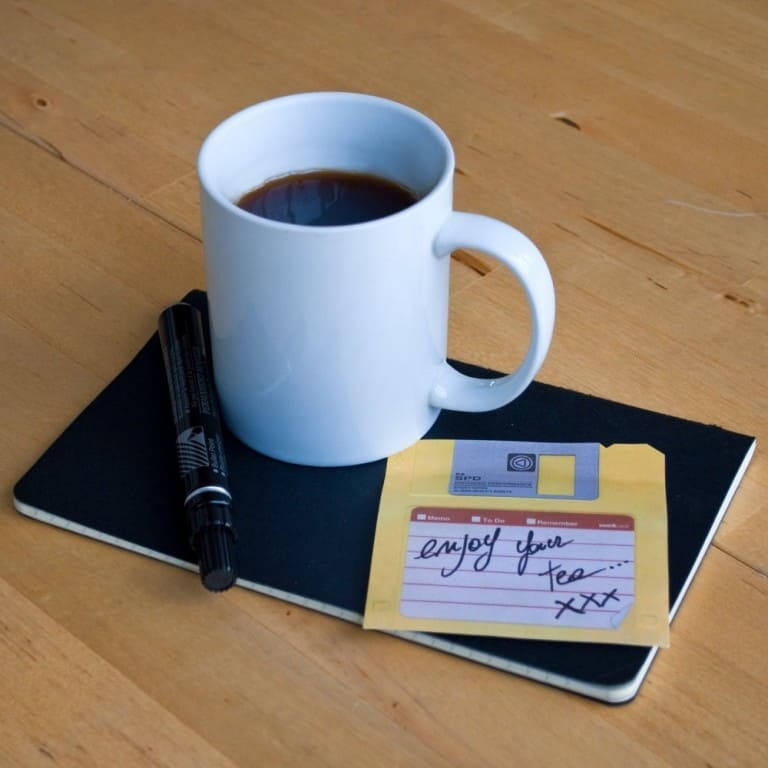 Suck UK Floppy Disk Sticky Notes Gag Gift Idea
