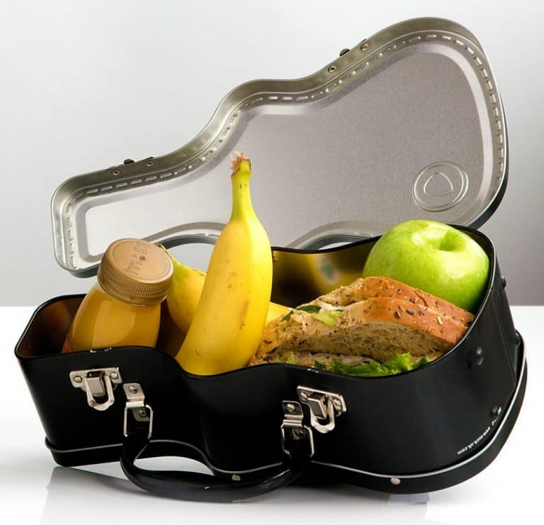 Suck UK Guitar Case Lunch Box Cool Things to Buy for Kids