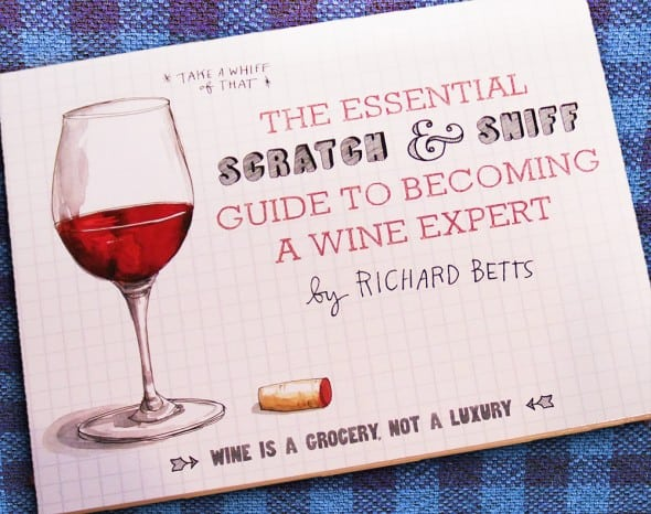 The Essential Scratch and Sniff Guide to Becoming a Wine Expert Book House Warming Gift to Buy
