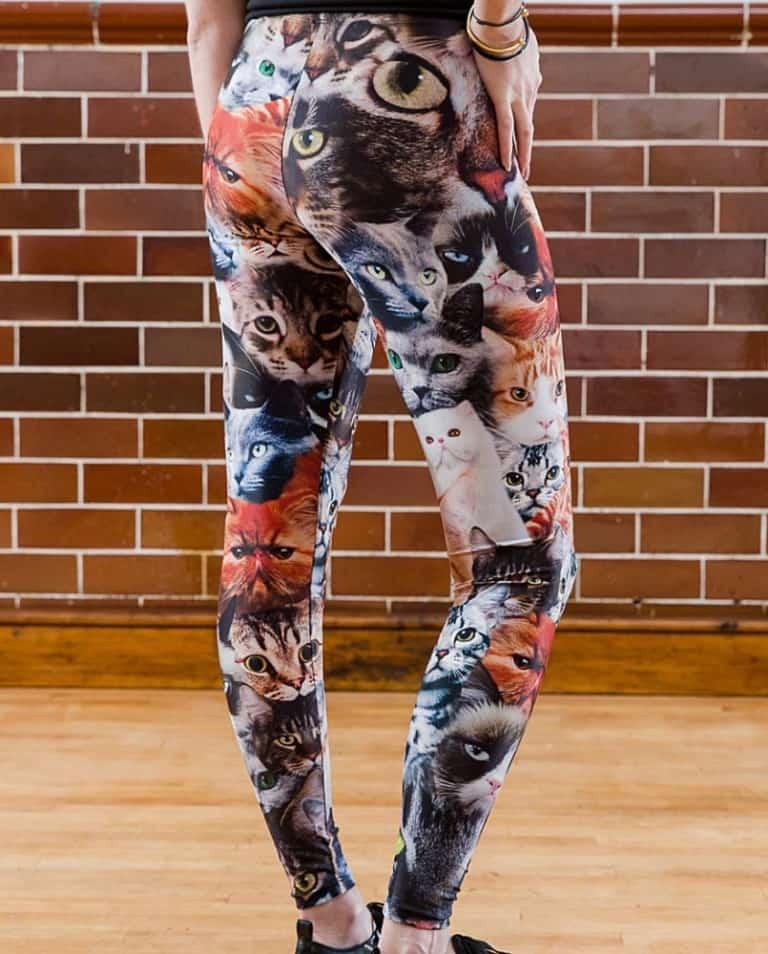 The Power of Greyskull Cat Leggings Cool Gift to Buy for Her