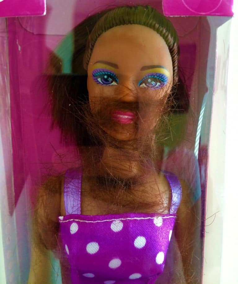 Thoughtful Tot Shave and Play Barbie Doll Funny Gift to Buy