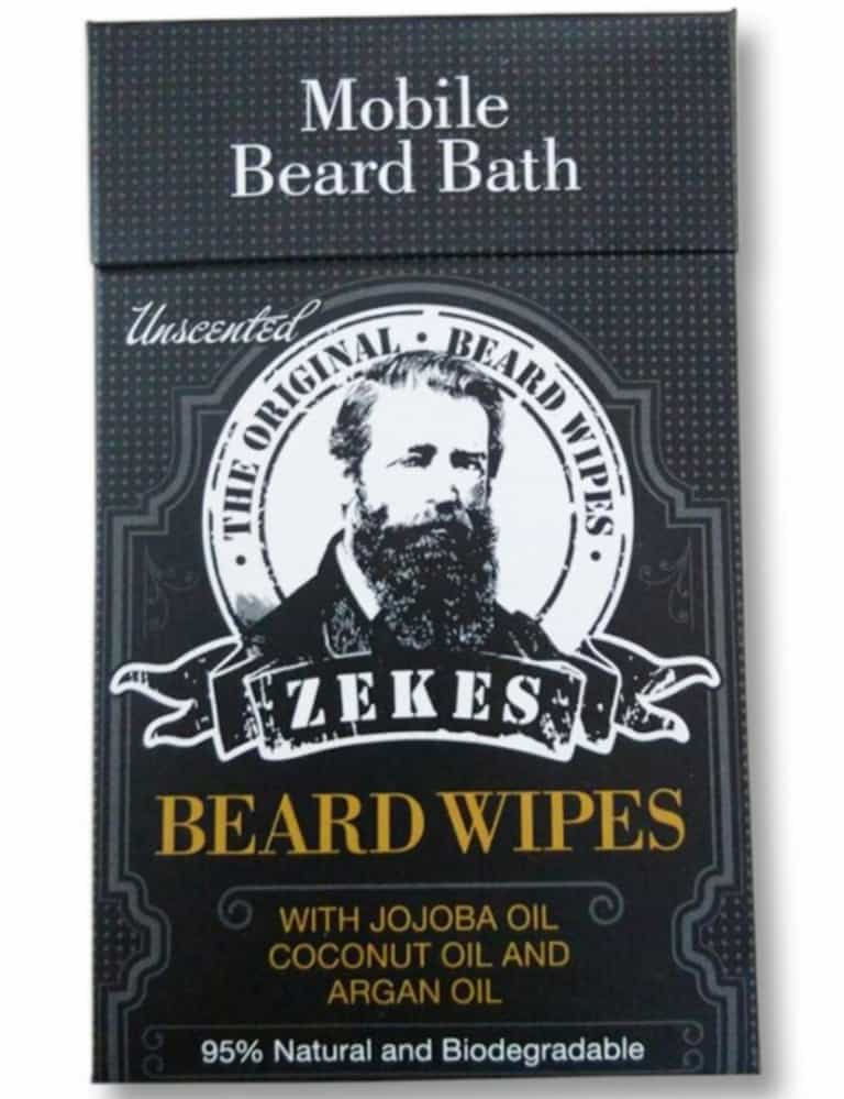 Zekes Original Beard Wipes Unusual Prodcut to Buy