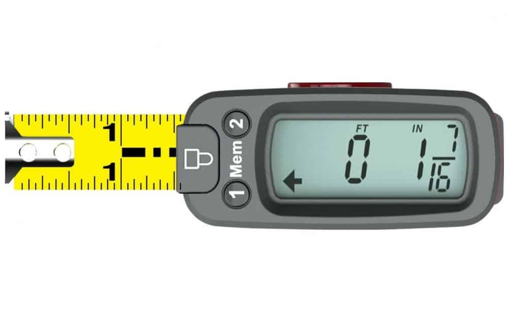 eTape16 Polycarbonate Digital Tape Measure Accurat e Measurement