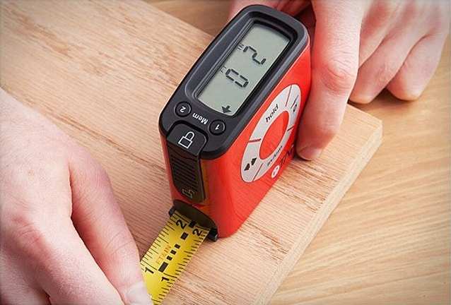 eTape16 Polycarbonate Digital Tape Measure Buy Cool Carpenter Accessory