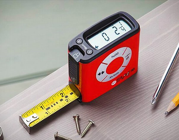 eTape16 Polycarbonate Digital Tape Measure Cool Dad Gift Idea to Buy