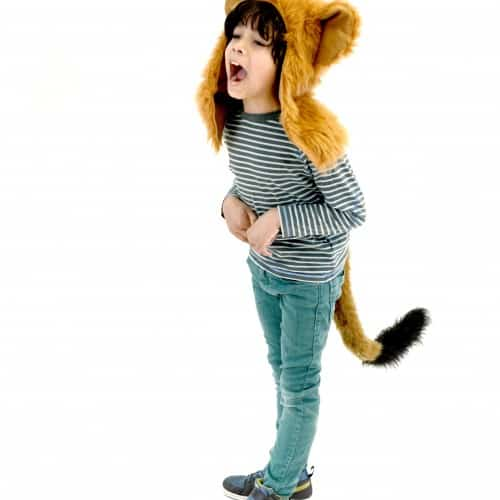 TellTails Wearable Animal Tails Lazy Lion