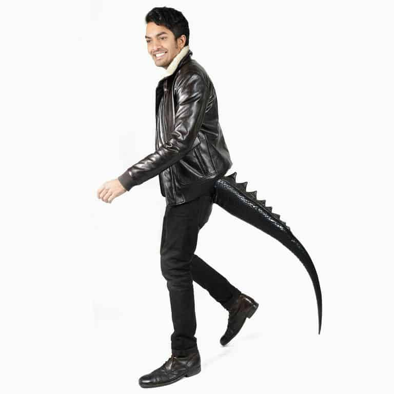 TellTails Wearable Animal Tails Lizard Adult Size